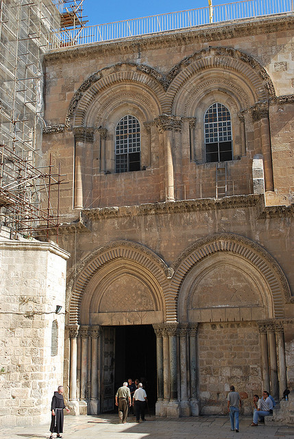 Photo: Church of Holy Sepulchre by Chad Rosenthal via Flickr